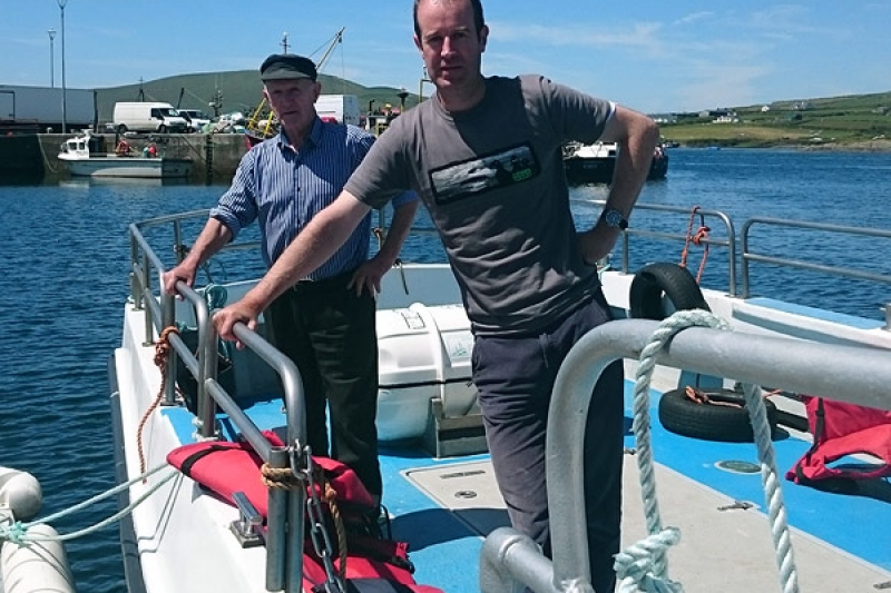 Donal McCrohan Skellig Boat